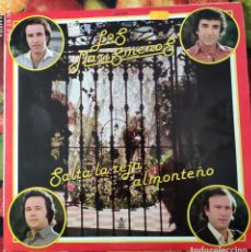 Discos de vinilo: LIQUIDACION LP EN PERFECTO ESTADO - LOS MARISMEÑOS_SALTA LA REJA ALMONTEÑO (AÑO OCHENTAS). Lote 238254685