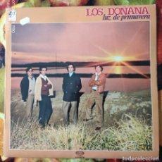 Discos de vinilo: LIQUIDACION LP EN PERFECTO ESTADO - LOS DOÑANAS_LUZ DE PRIMAVERA (AÑO OCHENTAS). Lote 238254750
