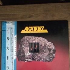 """Discos de vinilo: ALCATRAZZ """" NO PAROLE FROM ROCK 'N' ROLL """". EDICIÓN JAPÓN + OBI + ENCARTE LETRAS JAPONÉS. 1983.. Lote 238259460"""