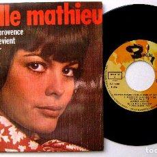 Discos de vinilo: MIREILLE MATHIEU - MON AMOUR ME REVIENT +3 - EP BARCLAY/MOVIEPLAY 1970 BPY. Lote 238270095