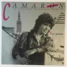 Disques de vinyle: CAMARÓN. SOY GITANO. POLYGRAM IBERICA.. Lote 238273770