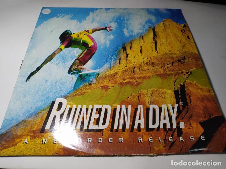 MAXI - NEWORDER – RUINED IN A DAY - NUOX 2 ( VG+/ VG) EURO 1993 (Música - Discos de Vinilo - Maxi Singles - Techno, Trance y House)