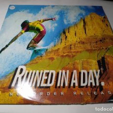 Discos de vinilo: MAXI - NEWORDER – RUINED IN A DAY - NUOX 2 ( VG+/ VG) EURO 1993. Lote 288631813