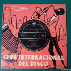 Discos de vinilo: EP 6 CANCIONES: CONFUSION CALYPSO - GERALDO LA VINY Y SU ORQUESTA, CON JOE CLEMENDORE (CID, 1959). Lote 238296390