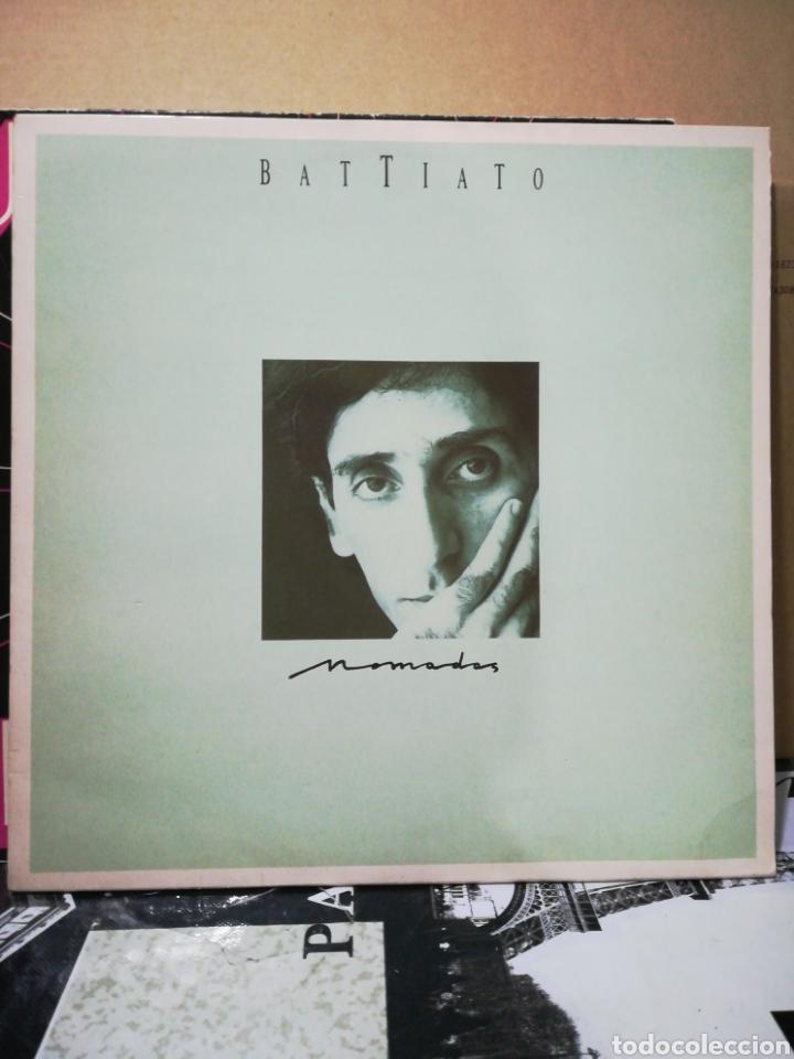 BATTIATO - NÓMADAS - COMO NUEVO (Música - Discos - LP Vinilo - Canción Francesa e Italiana)