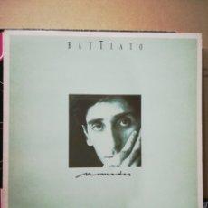 Disques de vinyle: BATTIATO - NÓMADAS - COMO NUEVO. Lote 238311100