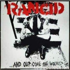 Discos de vinilo: RANCID...AND OUT COME THE WOLVES. LP VINILO NUEVO. PUNK - 0I. Lote 238317275
