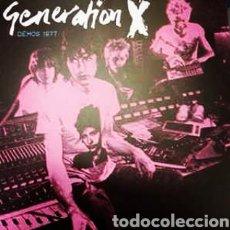 Discos de vinilo: GENERATION X –DEMOS 1977 . LP VINILO PRECINTADO. PUNK. Lote 238318275