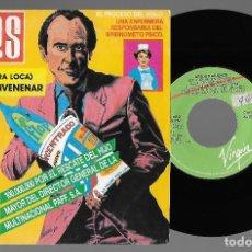 """Discos de vinilo: BESOS RABIOSOS 7"""" SPAIN 45 ME QUIERE ENVENENAR 1987 SINGLE VINILO POWER POP ROCK + HOJA PRENSA MIRA. Lote 238363800"""