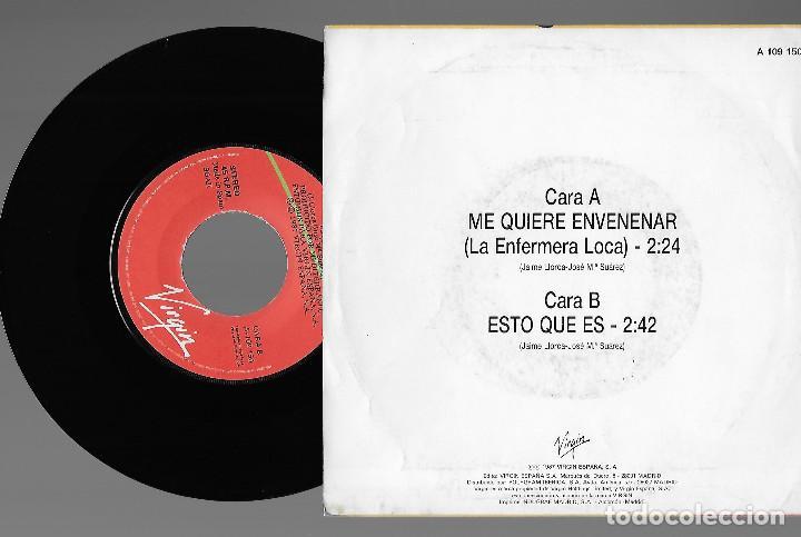 """Discos de vinilo: BESOS RABIOSOS 7"""" SPAIN 45 ME QUIERE ENVENENAR 1987 SINGLE VINILO POWER POP ROCK + HOJA PRENSA MIRA - Foto 2 - 238363800"""