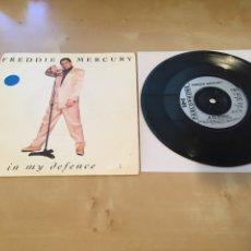 "Discos de vinilo: FREDDIE MERCURY - IN MY SILENCE - SINGLE RADIO PROMO 7"" - 1992 UK. Lote 238382385"