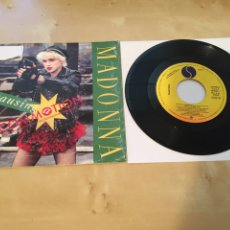 "Discos de vinilo: MADONNA - CAUSING A COMMOTION - SINGLE RADIO PROMO 7"" - 1987 ESPAÑA SPAIN. Lote 238383705"