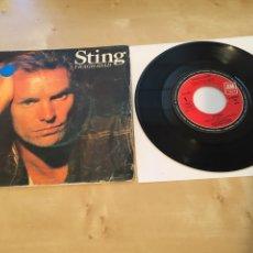 """Discos de vinilo: STING - FRAGILIDAD - SINGLE RADIO PROMO 7"""" - 1988 ESPAÑA. Lote 238386350"""