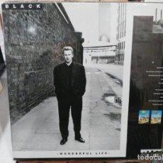 Discos de vinilo: BLACK - WONLDERFUL LIFE - LP. SELLO AM RECORDS 1987. Lote 276631273