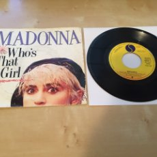 "Discos de vinilo: MADONNA - WHO'S THAT GIRL - SINGLE PROMO RADIO 7"" - 1987 ESPAÑA. Lote 238405335"