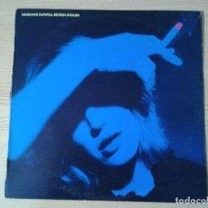 Discos de vinilo: MARIANNE FAITHFULL - BROKEN ENGLISH- LP ISLAND 1979 ED. ESPAÑOLA 201018 I MUY BUENAS CONDICIONES.. Lote 238410150