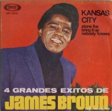 Discos de vinilo: JAMES BROWN//KANSAS CITY+3//EP//1967//SONOPLAY. Lote 238478370