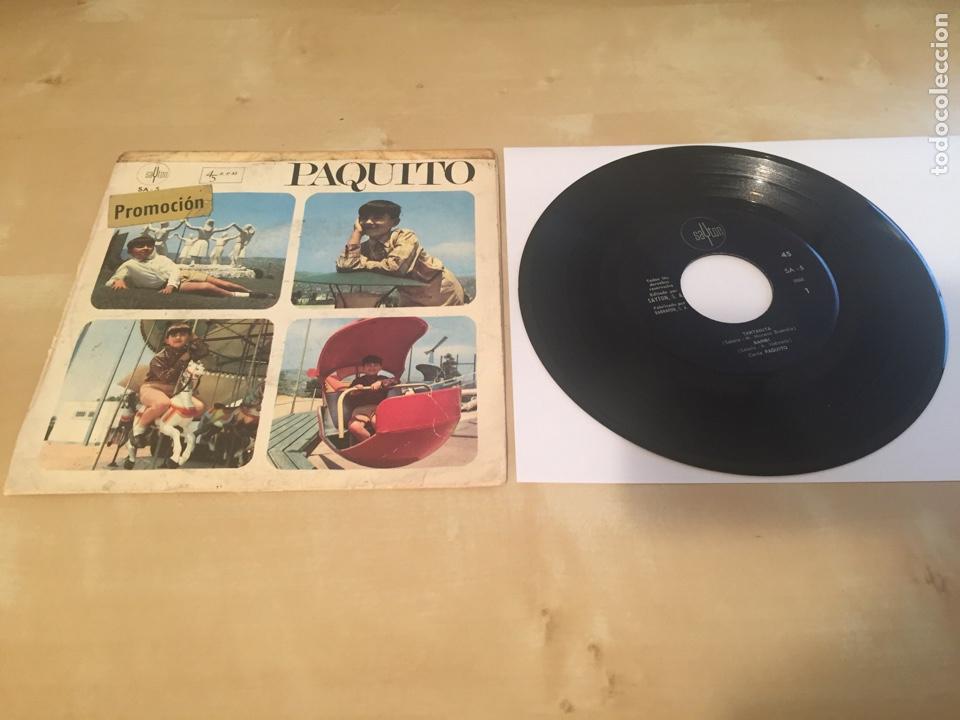 """PAQUITO - TARTANITA + 3 TEMAS - RADIO PROMO SINGLE 7"""" - 1967 SAYTON ESPAÑA (Música - Discos - Singles Vinilo - Música Infantil)"""