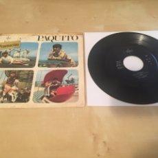 """Discos de vinilo: PAQUITO - TARTANITA + 3 TEMAS - RADIO PROMO SINGLE 7"""" - 1967 SAYTON ESPAÑA. Lote 238479480"""