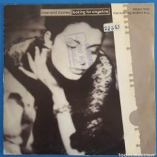 Discos de vinilo: SINGLE / LOVE AND MONEY - LOOKING FOR ANGELINE, 1991 ALEMANIA. Lote 238480120