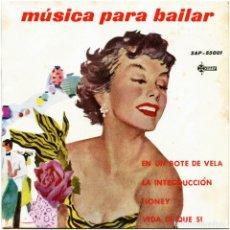 Discos de vinilo: VVAA - MÚSICA PARA BAILAR - EP SPAIN 1960 - SAEF SAP 55001. Lote 238482335