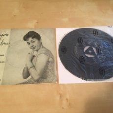 "Discos de vinilo: IMPERIO TRIANA - MESONERA DE ARAGON + 3 TEMAS - SINGLE RADIO 7"" - 1961 ESPAÑA. Lote 238489690"