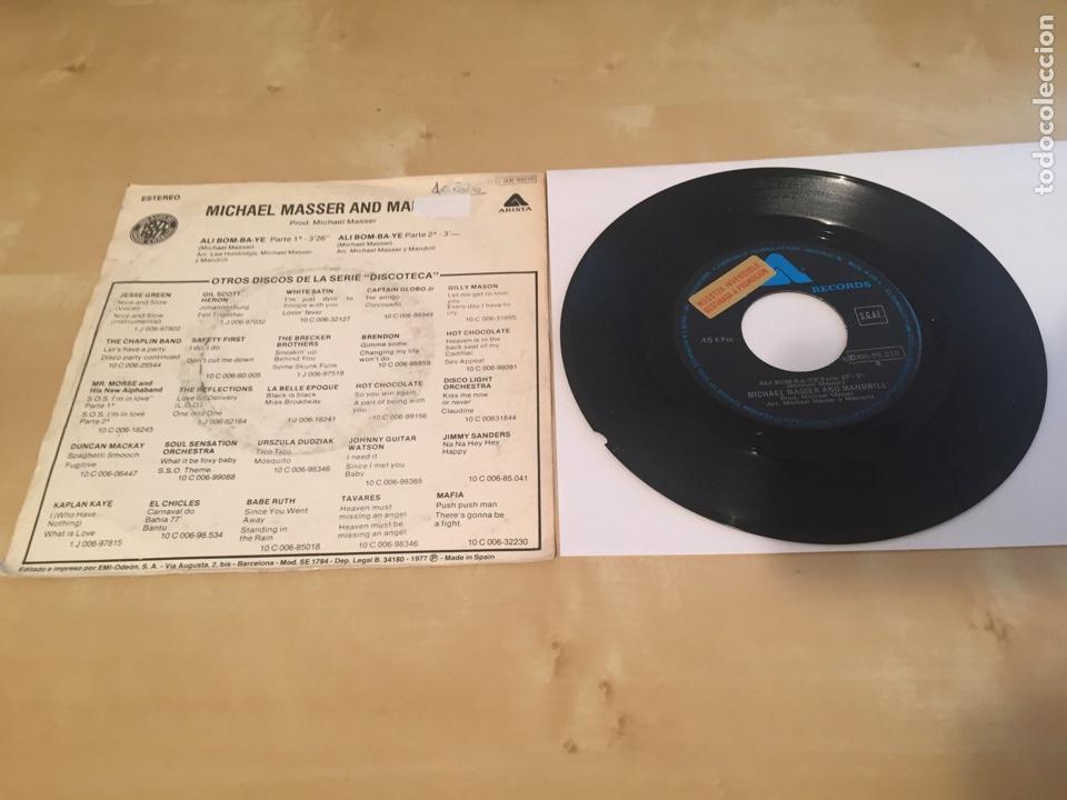 """Discos de vinilo: Michael Masser And Mandrill - Ali Bom-Ba-Ye 1977 - SINGLE RADIO 7"""" - - Foto 3 - 238493940"""