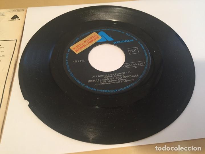"""Discos de vinilo: Michael Masser And Mandrill - Ali Bom-Ba-Ye 1977 - SINGLE RADIO 7"""" - - Foto 4 - 238493940"""