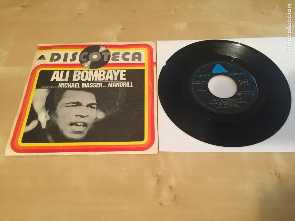 "MICHAEL MASSER AND MANDRILL - ALI BOM-BA-YE 1977 - SINGLE RADIO 7"" - (Música - Discos - Singles Vinilo - Funk, Soul y Black Music)"