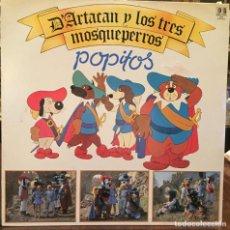 Disques de vinyle: DISCO VINILO D'ARTACAN Y LOS TRES MOSQUEPERROS POPITOS. Lote 238496515