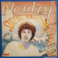 Discos de vinilo: SINGLE / LAURENT VOULZY - SURFING JACK, 1980. Lote 238497230