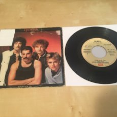 "Dischi in vinile: QUEEN - RADIO GA GA - SINGLE PROMO RADIO 7"" - 1983 ESPAÑA. Lote 238498365"