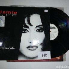 Discos de vinilo: ANTIGUO VINILO / OLD VINYL. HAMIE DEE : DON'T BE SHY (MAXI SINGLE 1994). Lote 238514060