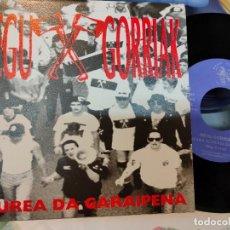 Discos de vinil: NEGU GORRIAK/ GEUREA DA/ NUEVO PROMOCIONAL. Lote 238549960