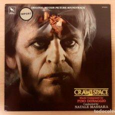 Discos de vinilo: CRAWLSPACE PINO DONAGGIO VARÈSE SARABANDE 1986 COMO NUEVO!!. Lote 238551425