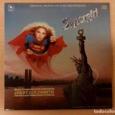 Disques de vinyle: SUPERGIRL JERRY GOLDSMITH VARÈSE SARABANDE 1984 COMO NUEVO!!. Lote 238551785