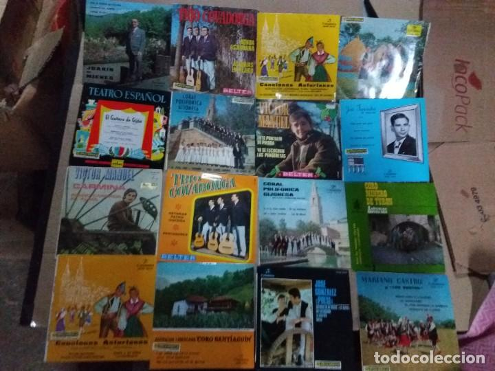 LOTE DE SINGLES ASTURIANOS(TONADA Y GAITA) (Música - Discos - Singles Vinilo - Étnicas y Músicas del Mundo)