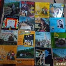 Discos de vinilo: LOTE DE SINGLES ASTURIANOS(TONADA Y GAITA). Lote 238552655