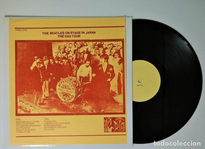 BEATLES - EN EL ESCENARIO EN JAPÓN THE 1966 TOUR VERY RARE YELLOW LABEL VERSION (Música - Discos - Singles Vinilo - Pop - Rock Internacional de los 50 y 60)
