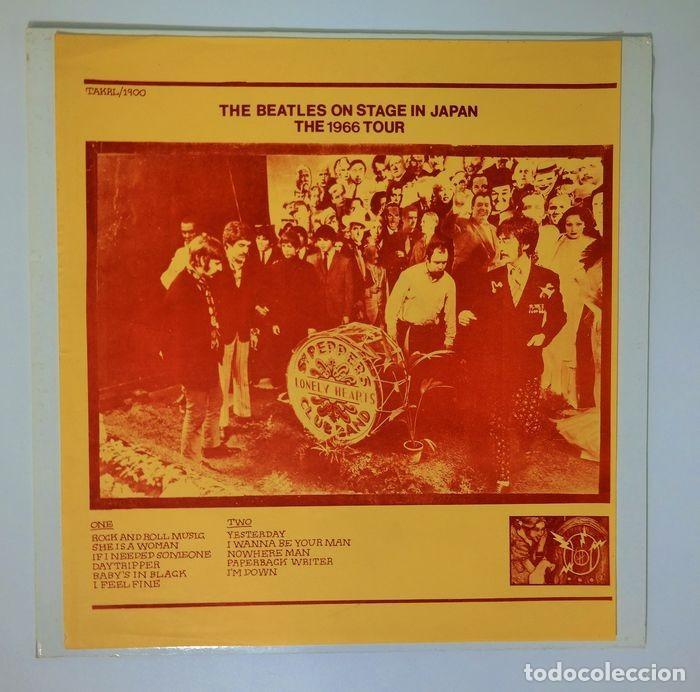 Discos de vinilo: Beatles - En el escenario en Japón The 1966 Tour Very rare Yellow Label Version - Foto 4 - 238561610