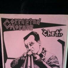 Discos de vinilo: CORRUPTED MORALS 1988 EP. LOOKOUT! RECORDS. Lote 238572955