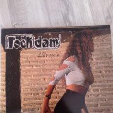 """Discos de vinilo: ROCK D.A.M. """" LLEVATELÓ """". EDICIÓN ORIGINAL. 1991. GRUPO GALLEGO GANADOR DEL VILLA ROCK DE BILBAO.. Lote 238580470"""