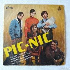 Discos de vinilo: JEANETTE, PIC NIC, CANTA EN INGLES, EP 1968. Lote 192105198