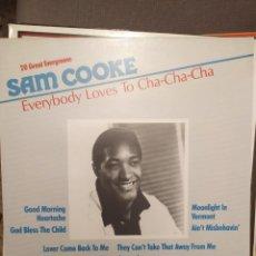 Discos de vinilo: SAM COOKE: EVERYBODY LOVES TO CHA CHA CHA ED ALEMANIA. Lote 238594945