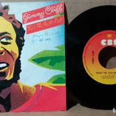 Discos de vinil: JIMMY CLIFF / TREAT THE YOUTHS RIGHT / SINGLE 7 INCH. Lote 238614485
