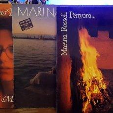 Discos de vinilo: LOTE 3 DISCOS MARINA ROSSELL. Lote 238622170