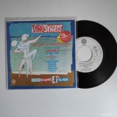 Disques de vinyle: DIRE STRAITS, TWISTING BY THE POOL. JAPON, SINGLE VINILO 45RPM. Lote 238628845