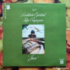 Discos de vinilo: LIQUIDACION LP EN PERFECTO ESTADO - FELIPE CAMPUZANO_JAEN (AÑOS 1979 - 1981). Lote 238634000