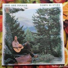 Discos de vinilo: LIQUIDACION LP EN PERFECTO ESTADO - JOSE LUIS PERALES_TIEMPO DE OTOÑO (AÑOS 1979 - 1981). Lote 238635075