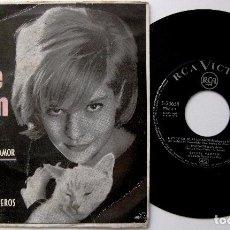 Discos de vinilo: SYLVIE VARTAN - ES DIFICIL DEJAR UN AMOR +3 - EP RCA VICTOR 1963 BPY. Lote 238636540